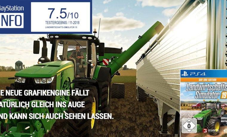 Landwirtschafts-Simulator 19 – Ein Traktor für alle Fälle