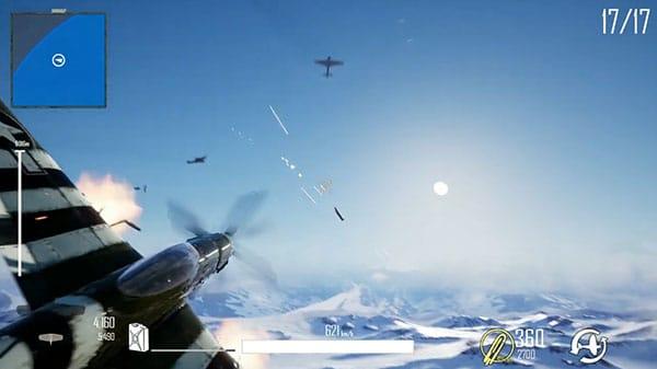 Dogfighter WW2 - Battle Royale mit Flugzeugen im Trailer vorgestellt