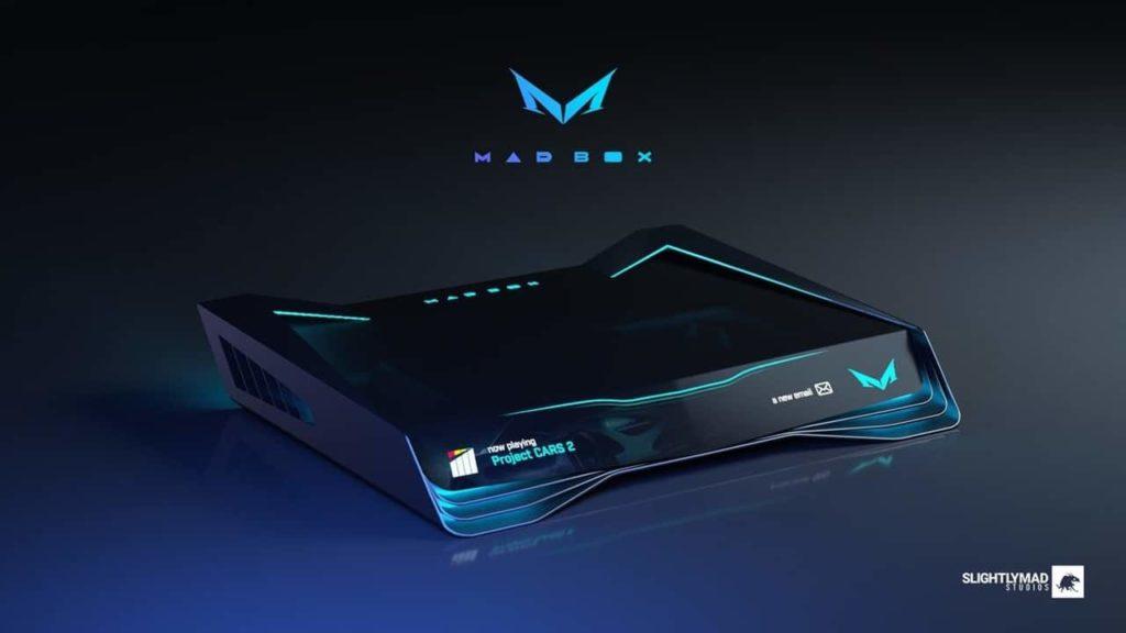Mad Box - Finales Design der neuen Konsole vorgestellt