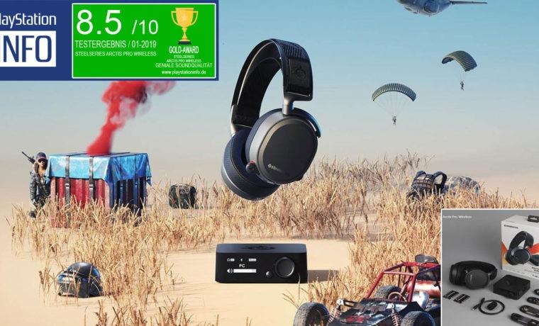 SteelSeries Arctis Pro Wireless - Das Elite Headset für Gamer?