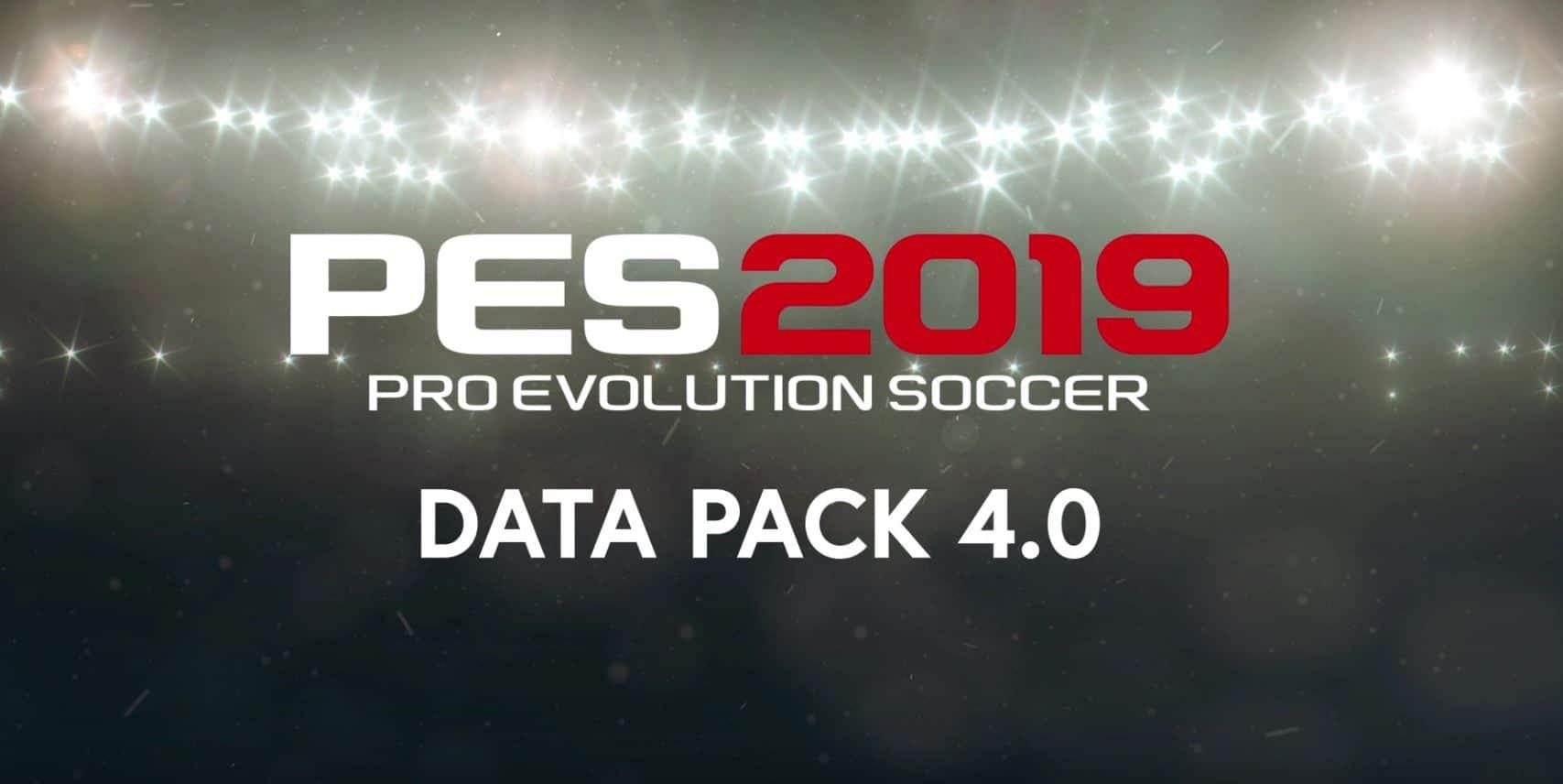 d5fba1caab Legendäre Stadien und mehr – Data Pack 4.0 für PES 2019 ab sofort verfügbar  .