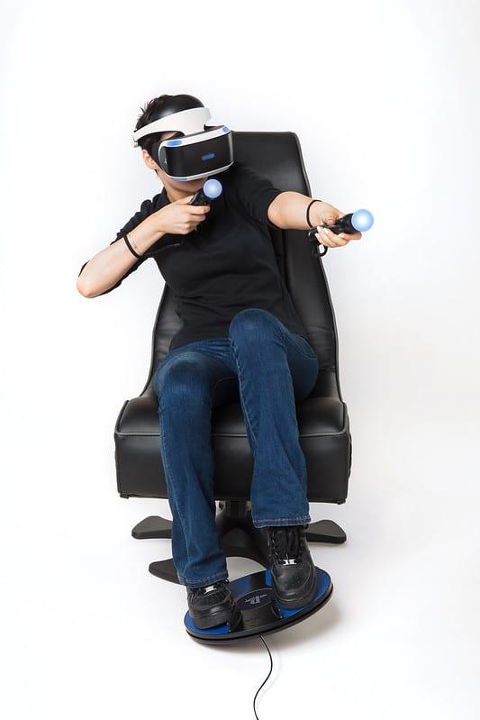 PSVR - Sony stellt Foot-Motion-Controller 3dRudder vor