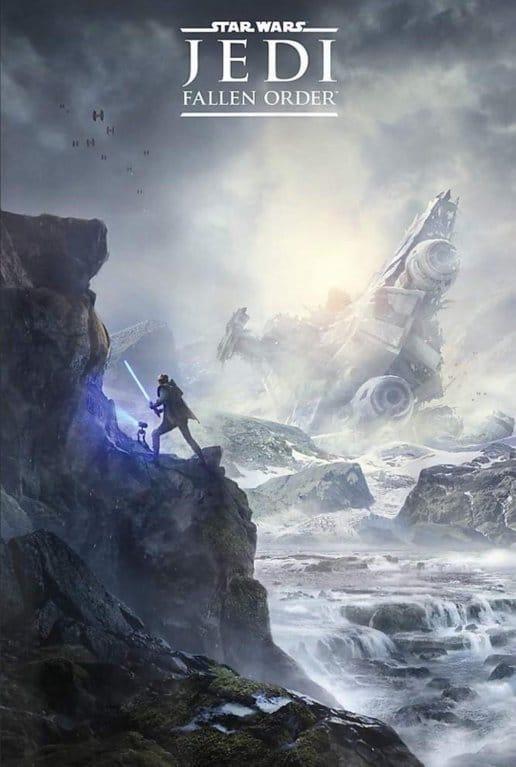 Star Wars Jedi Fallen Order - Poster zeigt den Helden