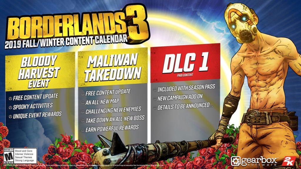 Die Entwickler von Gearbox haben einen ersten Vorgeschmack auf die DLC-Inhalte von Borderlands 3 gegeben. Wir haben alle Informationen.