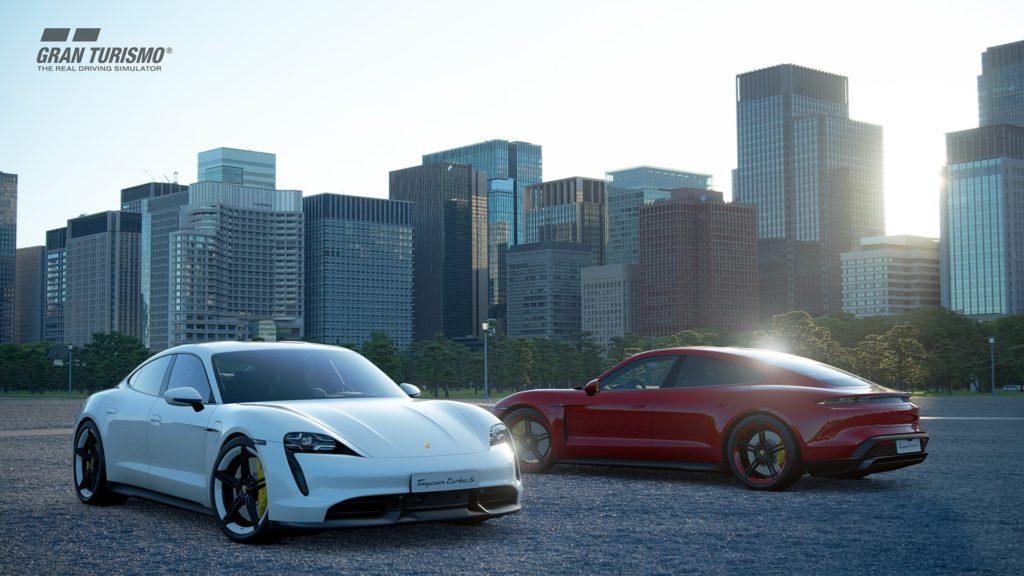 Den frisch vorgestellten Porsche Taycan Turbo S kann man in Kürze in virtueller Form ausprobieren - man braucht aber Gran Turismo Sport.