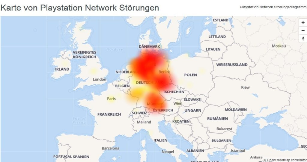 Ist das PSN down? Aufgrund einer Mega-Störung bei Vodafone kommt es hierzulande zu teilweise deutlichen Einschränkungen. Mehr Details...