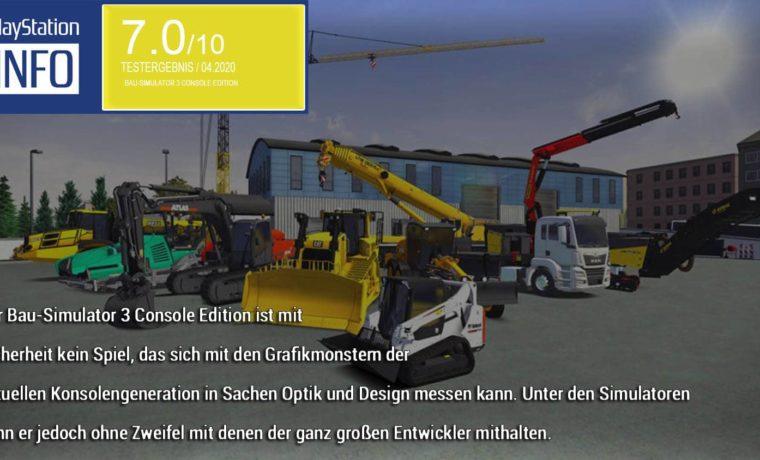 Bau-Simulator 3 - Console Edition